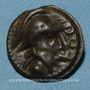 Monnaies Séquanes. Région de Besançon - Togirix. Potin, vers 80-50 av. J-C