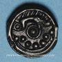 Monnaies Suessiones. Région de Soissons. Potin au sanglier, vers 60-30/25 av. J-C