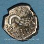 Monnaies Transpadane. Insubres. Région de Milan. Drachme imitant le type de Marseille, 2e s. av. J-C