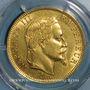 Monnaies 2e empire (1852-1870). 100 francs, Napoléon III, tête laurée 1868BB. 900 /1000. 32,25 gr. 1982 ex !
