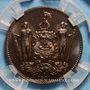 Monnaies Nord Bornéo. Protectorat Britannique. 1 cent 1891 H. Birmingham