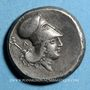 Monnaies Acarnanie. Leucas. Statère, vers 400-330 av. J-C