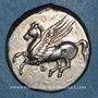 Monnaies Acarnanie. Thyrrheion. Ay, magistrat (320-280 av. J-C). Statère