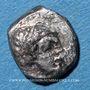 Monnaies Arabie Heureuse. Himyarites, rois incertains (après 110 ap J-). Fraction d'unité. Raidan