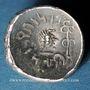 Monnaies Arabie Heureuse. Les Himyarites. Amdan Bayyan Yuhaqbid (vers 100-120). 1/2 denier léger. Raidan