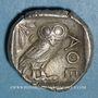 Monnaies Attique. Athènes. Tétradrachme, vers 454-404 av. J-C