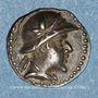 Monnaies Bactriane. Eucratides I (171-145 av. J-C). Obole