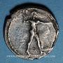 Monnaies Bruttium. Caulonia (480-388 av. J-C). Statère