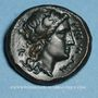 Monnaies Bruttium. Rhegium. Bronze, vers 351-280 av. J-C