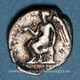 Monnaies Bruttium. Térina (vers 420-400 av. J-C). Diobole