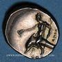 Monnaies Calabre. Tarente. Alliance avec les Romains, vers 272-235 av. J-C. Didrachme