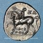 Monnaies Calabre. Tarente. Occupation punique (vers 212-209 av. J-C). 1/2 shekel