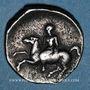 Monnaies Calabre. Tarente (vers 415-390 av. J-C). Didrachme