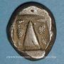 Monnaies Carie. Kaunos. Statère, vers 450-430 av. J-C