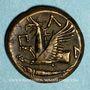 Monnaies Chersonèse Taurique. Panticapée. Bronze, 4e siècle av. J-C