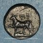 Monnaies Côte européenne de la Propontide. Byzance. 1/5 sicle d'argent, vers 340-320 av. J-C