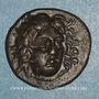 Monnaies Iles de Carie. Rhodes. Eukrates, magistrat. Drachme, vers 304-189 av. J-C
