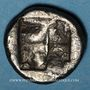 Monnaies Ionie. Clazomène (vers 500 av. J-C.). Didrachme