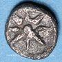 Monnaies Ionie. Ephèse (vers 500-420 av. J-C). Tétartémorion