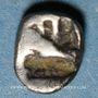 Monnaies Ionie. Téos (vers 500-480 av. J-C). Tétartémorion
