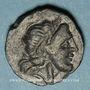 Monnaies Italie. Apulie. Salapia. Bronze, vers 225-210 av. J-C. 19,56 mm