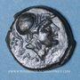 Monnaies Italie. Apulie. Salapia, vers 225-210 av. J-C. Bronze