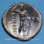 Monnaies Italie. Bruttium. Les Bruttiens (282-203 av. J-C). Drachme