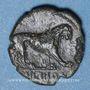 Monnaies Italie. Bruttium. Rhégium. Bronze, vers 260-215 av. J-C