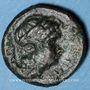 Monnaies Italie. Bruttium. Rhégium. Bronze, vers 350-270 av. J-C