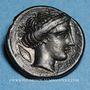 Monnaies Italie. Bruttium. Rhégium. Hemiobole, vers 415-387 av. J-C