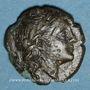 Monnaies Italie. Bruttium. Rhégium (vers 260-215 av. J-C). Bronze