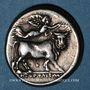 Monnaies Italie. Campanie. Neapolis. Didrachme, vers 325-241 av. J-C