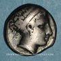 Monnaies Italie. Campanie. Neapolis. Didrachme, vers 350-325 av. J-C