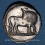 Monnaies Italie. Lucanie. Sybaris (560-510 av. J-C). Statère