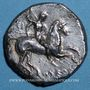 Monnaies Italie. Tarente. Deinokratès, magistrat. Didrachme, vers 302-281 av. J-C