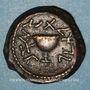 Monnaies Judée. 1ère révolte (60-70). Bronze (8 prutoh) an 4 (= 69). Jérusalem