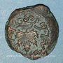 Monnaies Judée. 1ère révolte (60-70). Petit bonze (prutah). Jérusalem