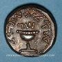 Monnaies Judée. 1ère révolte (60-70). Shékel an 3