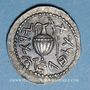 Monnaies Judée. 2e révolte juive - Révolte de Bar Kokhba (132-135). Denier ou zuz, n. d. (an 3)
