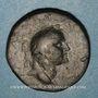 Monnaies Judée. Hérode Agrippa II (56-97). Bronze frappé sous Vespasien, an 14 (= 73-74). Caesarea Paneas