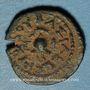 Monnaies Judée. Hérode le Grand (40- 4 av. J-C.). Bronze (4 prutoh) an 3 (= 40 av. J-C). Sébasté (Samarie)