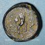 Monnaies Judée. Mattathias Antigone (40-37 av. J-C). Petit bonze (4? prutoh). Jérusalem