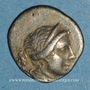Monnaies Ligue Lycienne. Kragos. 1/4 drachme, vers 50-20 av. J-C