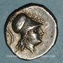 Monnaies Lucanie. Héraclée. Didrachme, vers 276-250 av. J-C