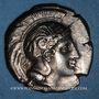 Monnaies Lucanie. Vélia. Didrachme, 340-334 av. J-C