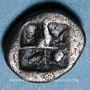 Monnaies Macédoine. Néapolis (vers 525-450 av. J-C). Obole