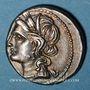 Monnaies Monnayage italo-punique (Bruttium ?) (vers 215-205 av. J-C). Demi-shekel
