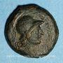 Monnaies Mysie. Pergame. Bronze, vers 133-127 av. J-C