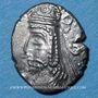Monnaies Perside, dynaste incertain, prince Y (1er  siècle), hémidrachme. R/: double diadème stylisé
