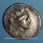 Monnaies Phénicie. Arados. Tétradrachme, an 122 (= 138/137 av. J-C)
